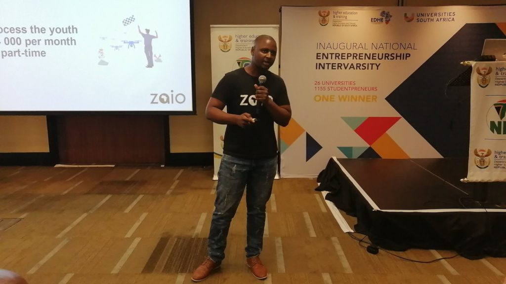 Featured image: Zaio founder and CEO Mvelo Hlophe (Twitter)
