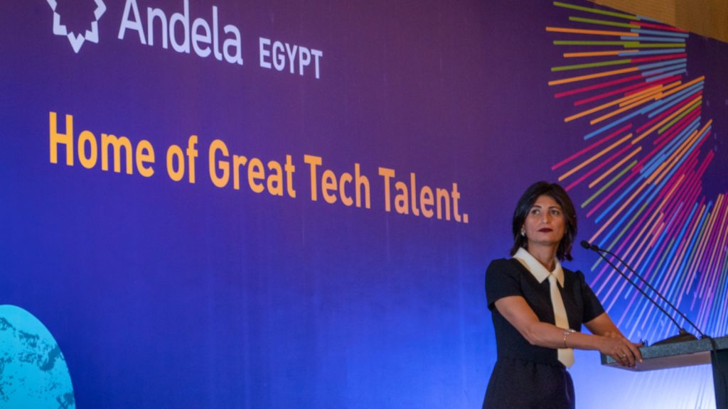 Featured image: Andela Egypt country director Rama El Safty (Supplied)