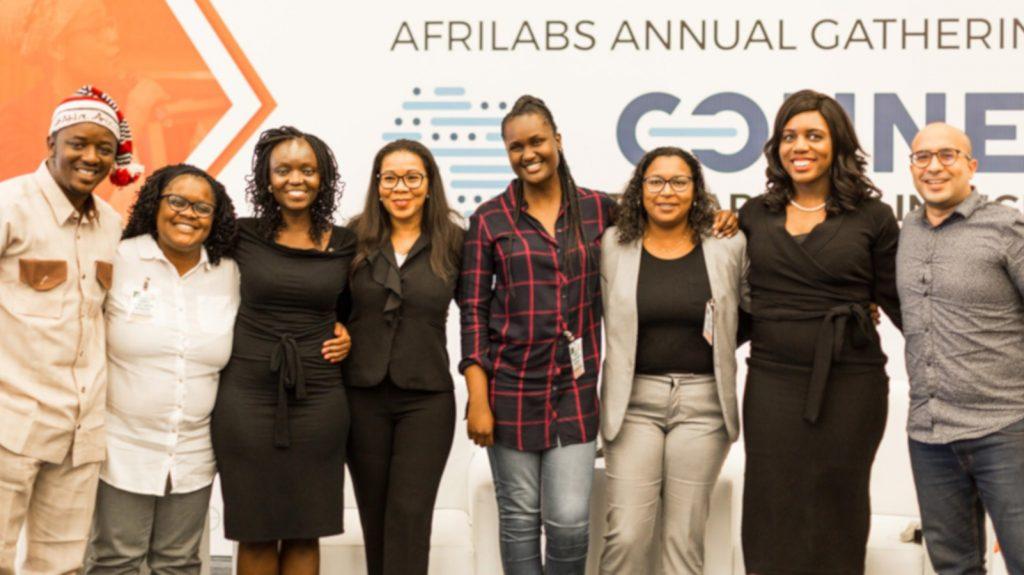 Featured image, left to right: AfriLabs new board: Daniel Chinagozi, Kudzai M. Mubaiwa, Nekesa Were, Rebecca Enonchong, Linda Kwamboka, Fatoumata Niang Niox, Afrilabs executive director Anna Ekeledo and Moataz Helmy (Supplied)