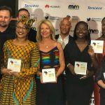 Featured image: Some of the 2019 AppsAfrica Innovation Awards winners (Supplied)