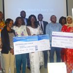 Featured image: Winners and participants at Seedstars Bamako 2019 (Impact Hub Bamako via Twitter)