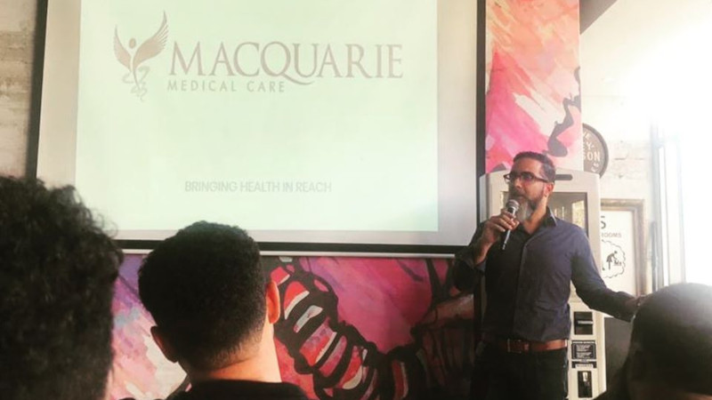 Featured image: Macquarie Medical Care founder Armid Azadeh (Macquarie Medical Care via Facebook)