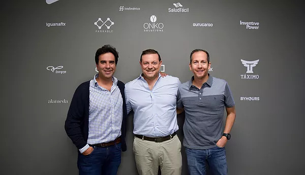 Featured image, left to right: Angel Ventures founder and managing partner Hernan Fernandez Lamadrid, Iliad Partners founder and managing partner Christos Mastoras and Angel Ventures managing partner Camilo Kejner (Iliad Partners)