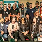 Featured image: Part of Startupbootcamp AfriTech's 2019 cohort at a demo day event last November (Startupbootcamp AfriTech via Facebook)