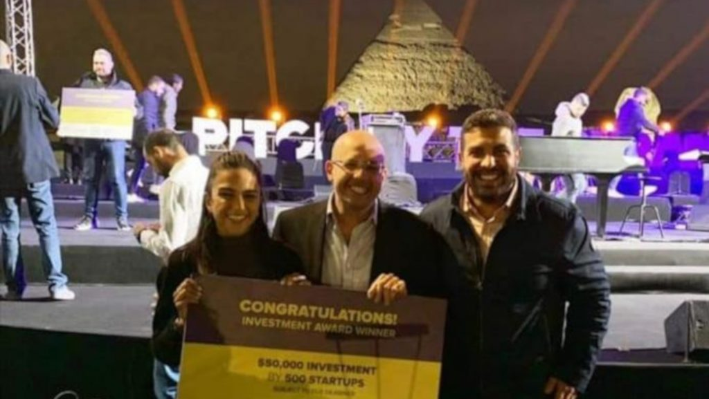 Featured image, left to right: PayNas director of communications and investor relations Yara El Abd, PayNas founder and CEO Mohamed Mounir ElHashemy and PayNas co-founder and commercial director Mohamed A FakhrElDin (LinkedIn)
