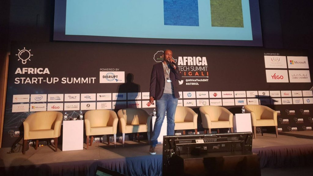 Featured image: Microsoft 4Afrika's Stephane Nyombayire speaking at last year's edition of Africa Tech Summit Kigali (Africa Tech Summit HQ via Facebook)