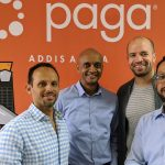 Featured image, left to right: Apposit co-founder and CEO Adam Abate, Simon Solomon, Eric Chijioke and Gideon Apposit (Paga via Medium)