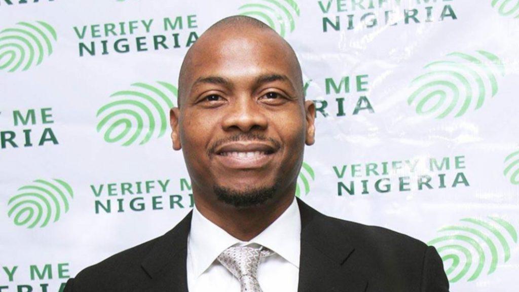 Featured image:VerifyMe Nigeria CEO and co-founder Esigie Aguele (VerifyMe Nigeria via Facebook)