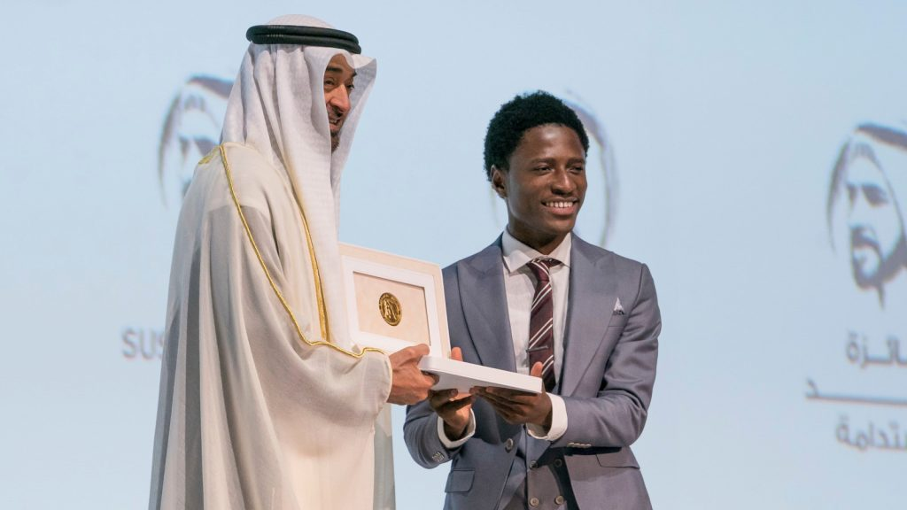 Featured image, left to right: Crown Prince of Abu Dhabi Sheikh Mohammed bin Zayed Al Nahyan and Okuafo Foundation co-founder and AI research lead Mustapha Diyaol Haqq (Supplied)