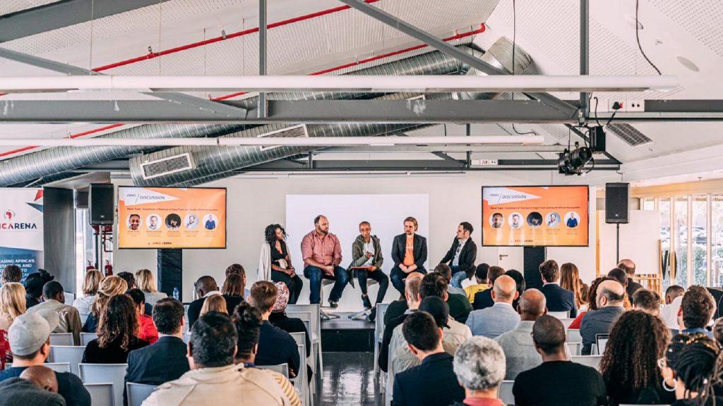 AfricArena Summit Johannesburg 2021 startups pitching